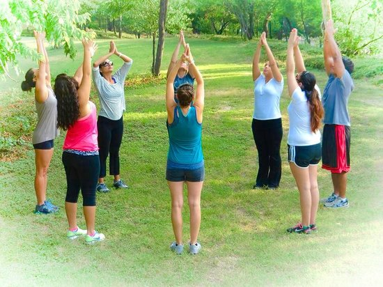 Hiking Yoga Dallas