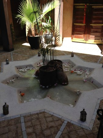 Angsana Riads Collection Morocco -  Riad Tiwaline: Courtyard in front of room
