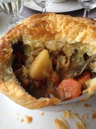 Les Alizes Sarl: Plat : Pie d'agneau / délicieux !!!!