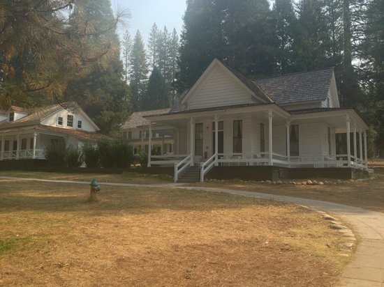 Big Trees Lodge, National Historic Landmark : Outer building accommodation