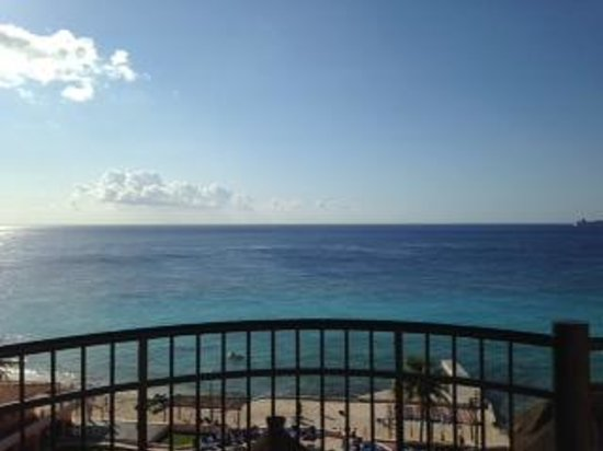 El Cozumeleño Beach Resort: Rm 1707 Balcony View