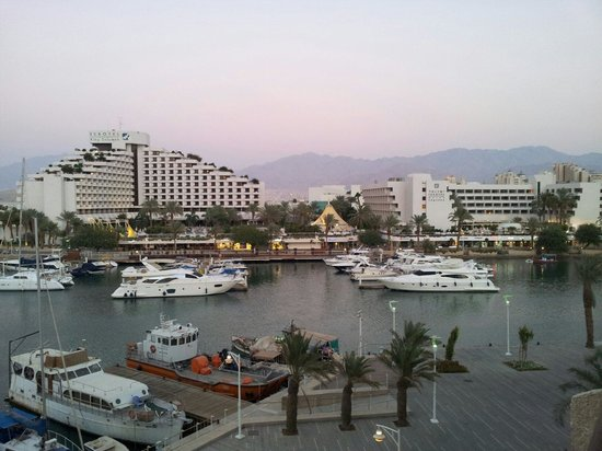 Caesar Premier Eilat: Вид из окна