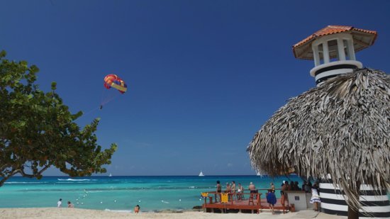 Iberostar Hacienda Dominicus: le bar de la plage
