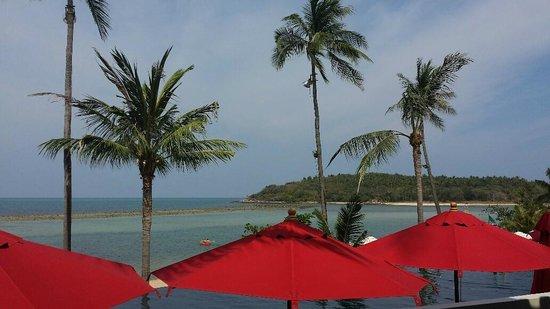 Anantara Lawana Koh Samui Resort : View from Ocean Kiss