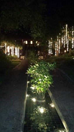 Anantara Lawana Koh Samui Resort : Reception at night