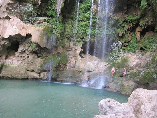 Cascades d'Akchour: grande cascade, Akchour