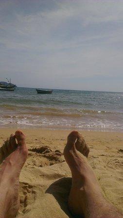 Pousada Kilandukilu : como extraño esto...vista tirado en la playa...