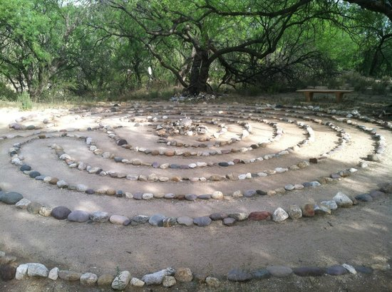 Canyon Ranch in Tucson: The Labyrinth