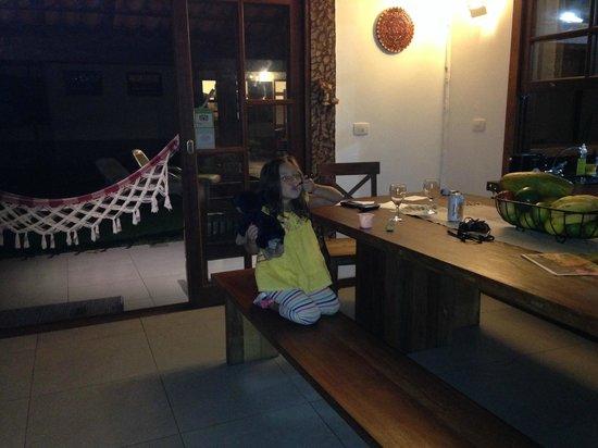 Maresia de Búzios Guest House : comedor