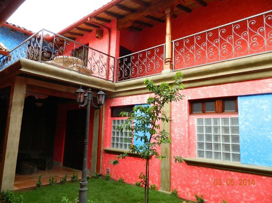 Hotel Casa del Consulado : Hotel grounds