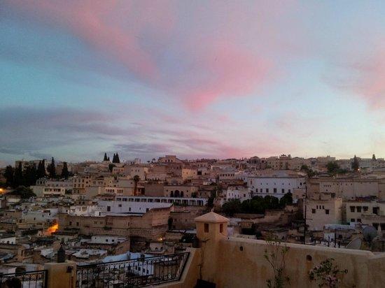 dar gnaoua: Vue panoramique sur Fès