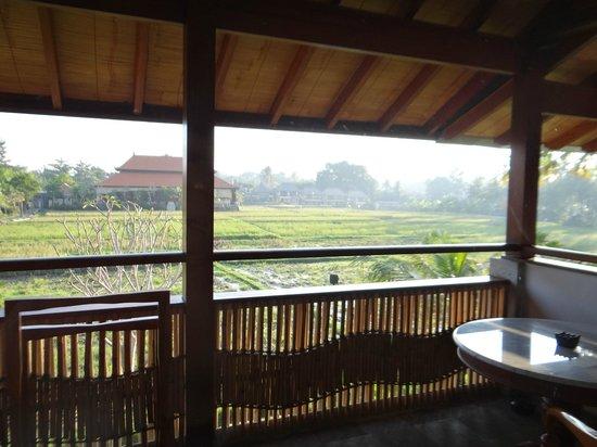 Alaya Resort Ubud: La terraza de la habitacion