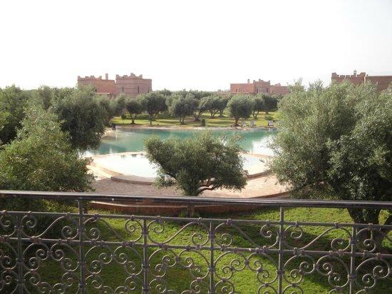 Hotel Douar Al Hana Resort & Spa : vue du toit terrasse du restaurant
