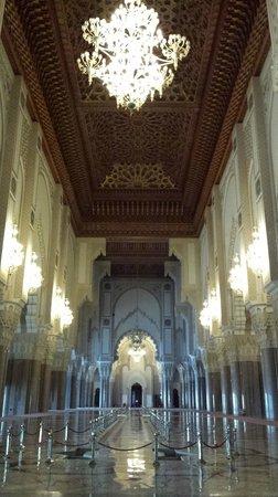 Mosquée Hassan II : Luxory interior
