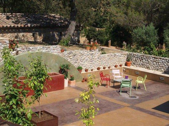 Hotel Can Pam: Terraza solarium