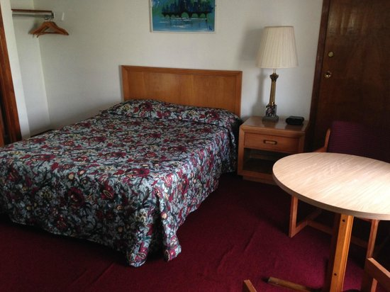 Chateau Motor Lodge: 1 Queen bed