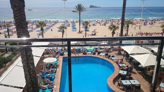 Sol Costablanca: the view from our room