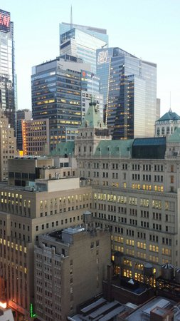 Row NYC Hotel : Vista dalla mia camera al 26° piano (con upgrade vista)