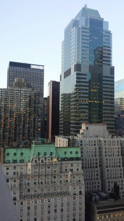 Row NYC Hotel : Vista dalla mia camera al 26° piano (con upgrade vista)