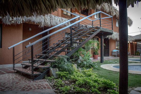 Casa Xiloé: Escaleras