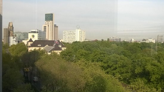 Pullman Berlin Schweizerhof : view from the 6th floor