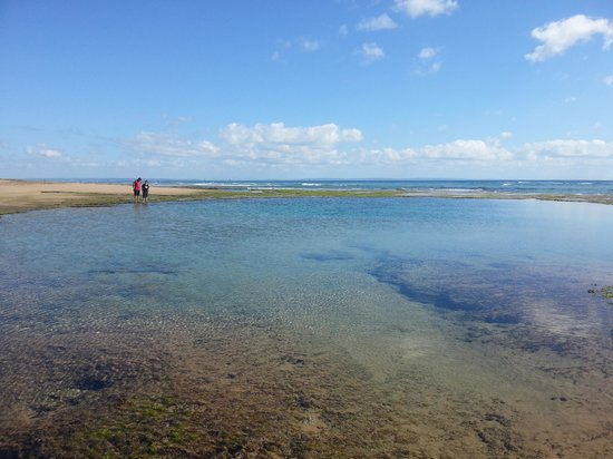 Barra Beach: one of the tidal pools
