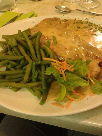 Bar Brasserie Le Grill : Escalope de dinde haricots verts