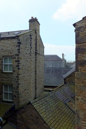 The Woolly Sheep Inn: Characterful view from room