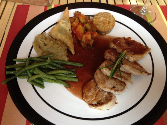 Restaurant La Mariennee: Filet mignon de porc