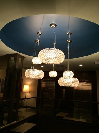 Hotel Preston : Super cool lighting