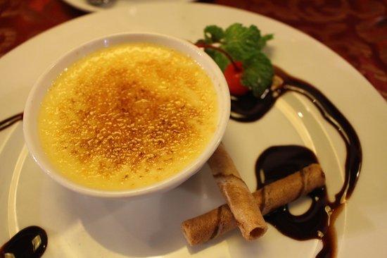 Essence Restaurant: Creme Brulee