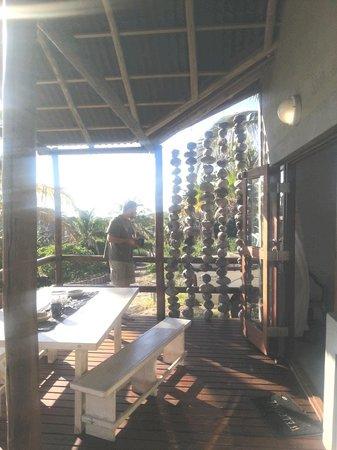 Bibo Sands: unit 1...hubby just enjoying the morning views :-)