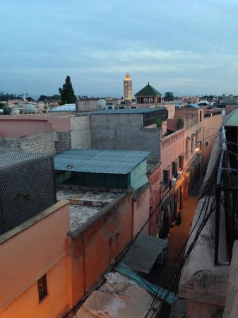 Riad l'Orangeraie: View from the roof