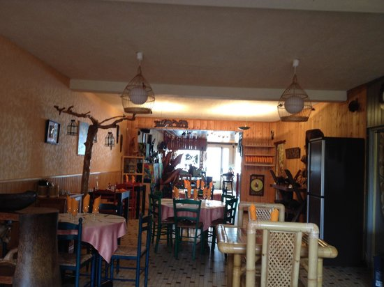 Restaurant La Mariennee: Une partie du restaurant.