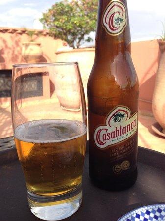 Riad l'Orangeraie: Refreshment!