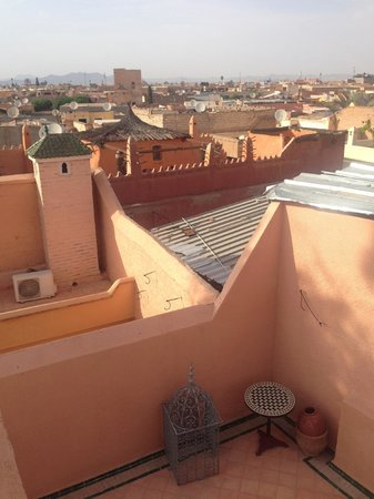 Riad l'Orangeraie: View from the roof terrace