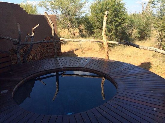 Madikwe Safari Lodge: Private pool