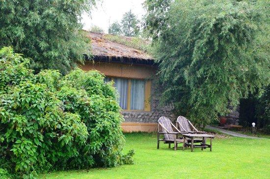 Mountain Gorilla View Lodge: Cabin no. 2