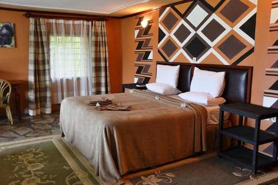 Mountain Gorilla View Lodge: Bedroom