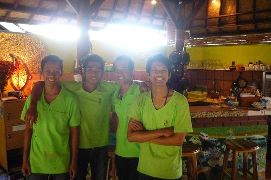 The Fair Warung Bale by the Fair Future Foundation: Part of the team