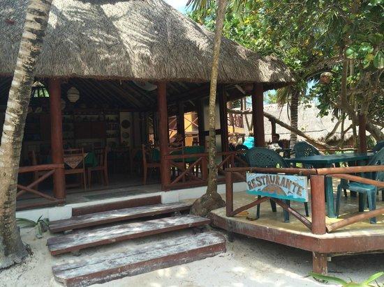 Tita Tulum - Hotel Ecologico : Restaurant