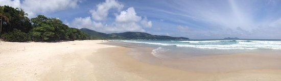 Lopes Mendes Beach : Panoramic view Lopes Mendes