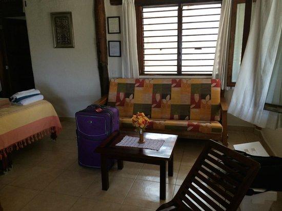 Tita Tulum Hotel Ecologico: Sitting area