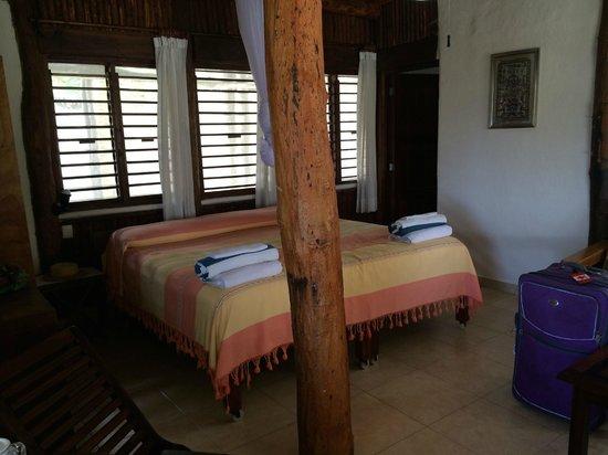Tita Tulum Hotel Ecologico: Bed