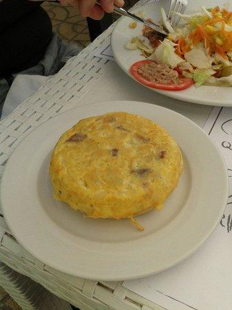 La Tortillita: Une tortilla au jambon de serrano