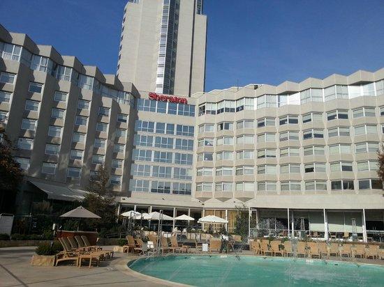 Foto de sheraton santiago hotel and convention center for Piscina hotel w santiago