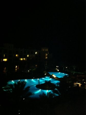 Shangri La Barr Al Jissah Resort & Spa - Al Bandar Hotel: At night from room