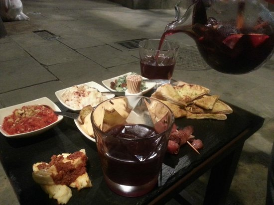 Ziryab Vinos y Tapas Fusio: Dinner