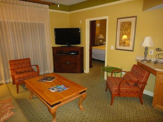 Sheraton Vistana Villages - International Drive: Sala de Estar