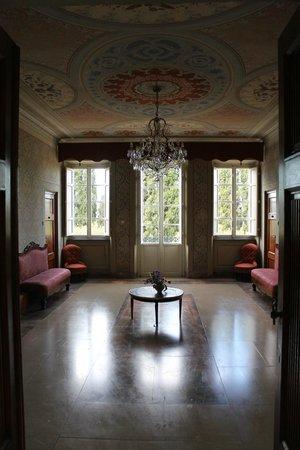 Villa Pedone : salone del primo piano